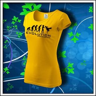 Evolution Breakdance - dámske žlté