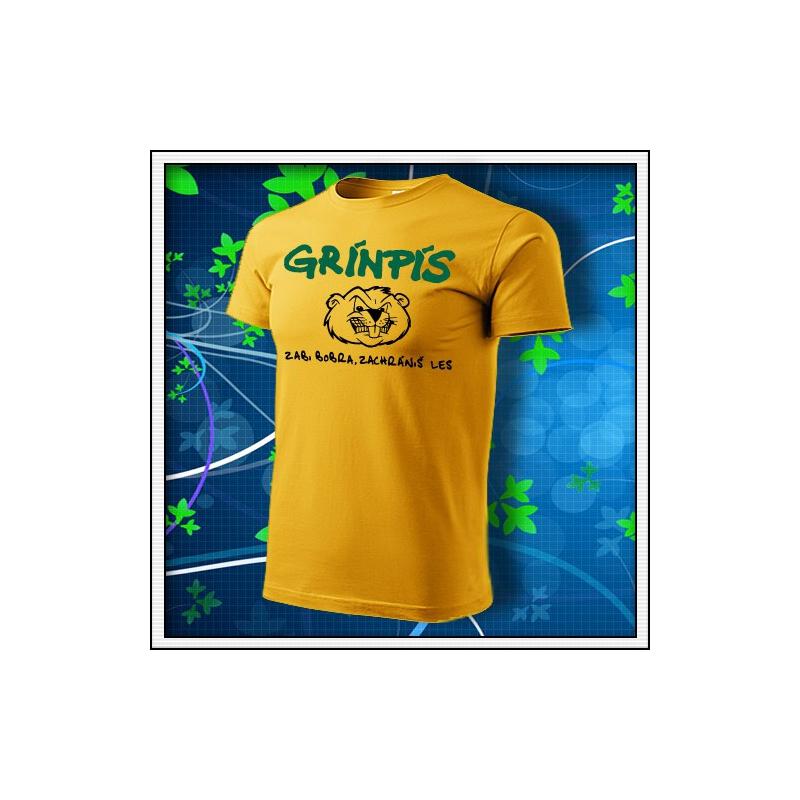 Grínpís - žlté