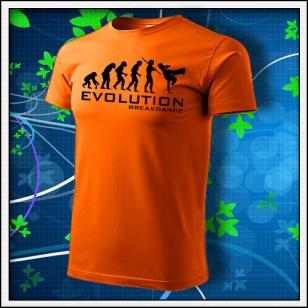 Evolution Breakdance - oranžové