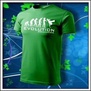 Evolution Breakdance - trávovozelené