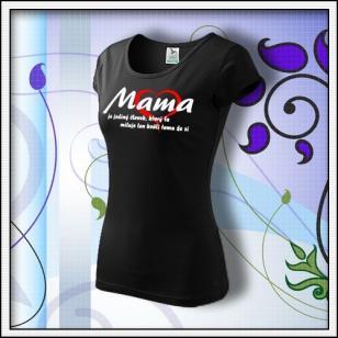 Mama 01 - čierne