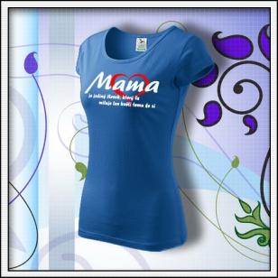 Mama 01 - svetlomodré