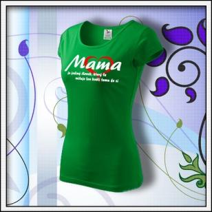 Mama 01 - trávovozelené