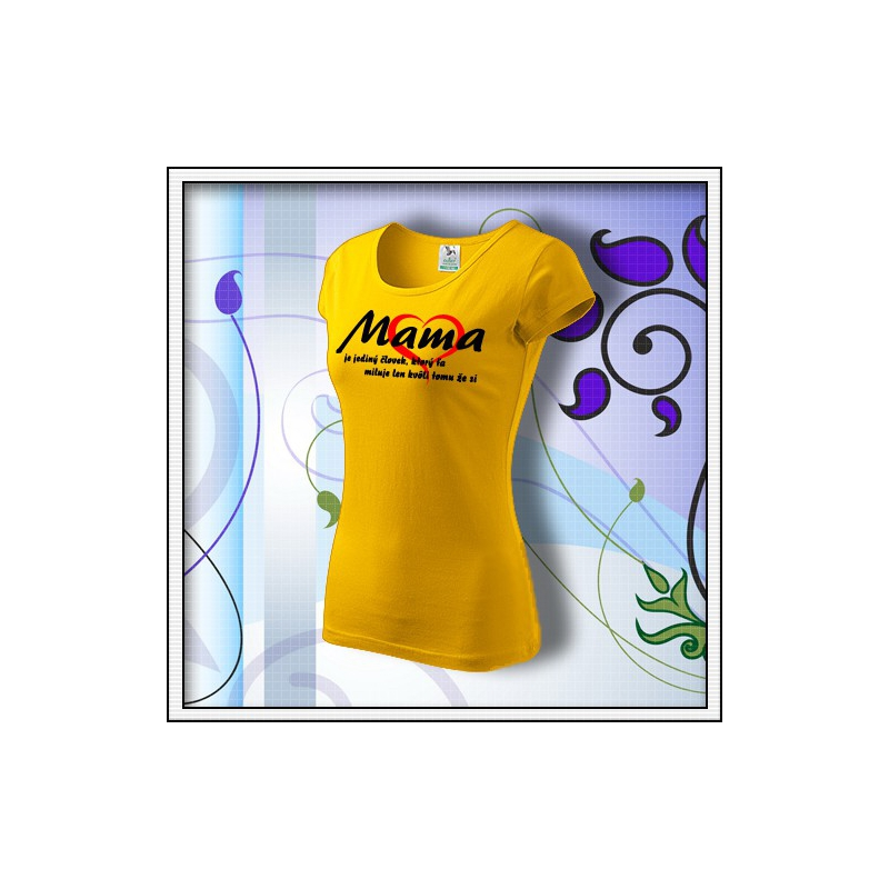 Mama 01 - žlté