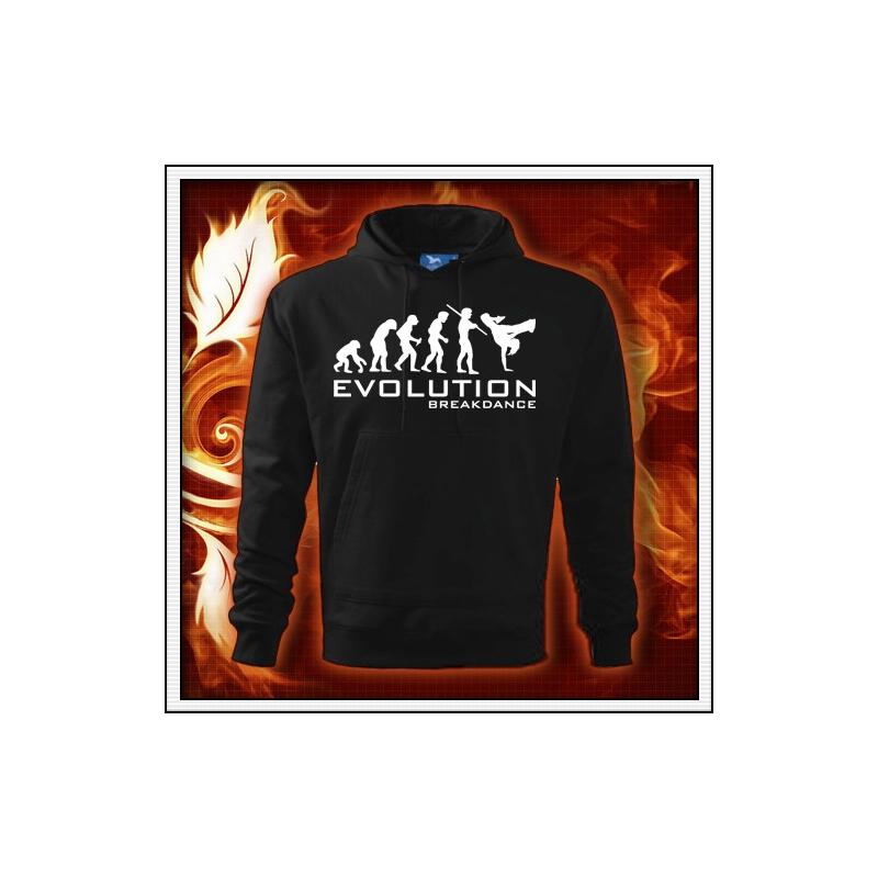 Evolution Breakdance - čierna mikina