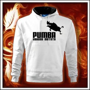 Pumba - biela mikina