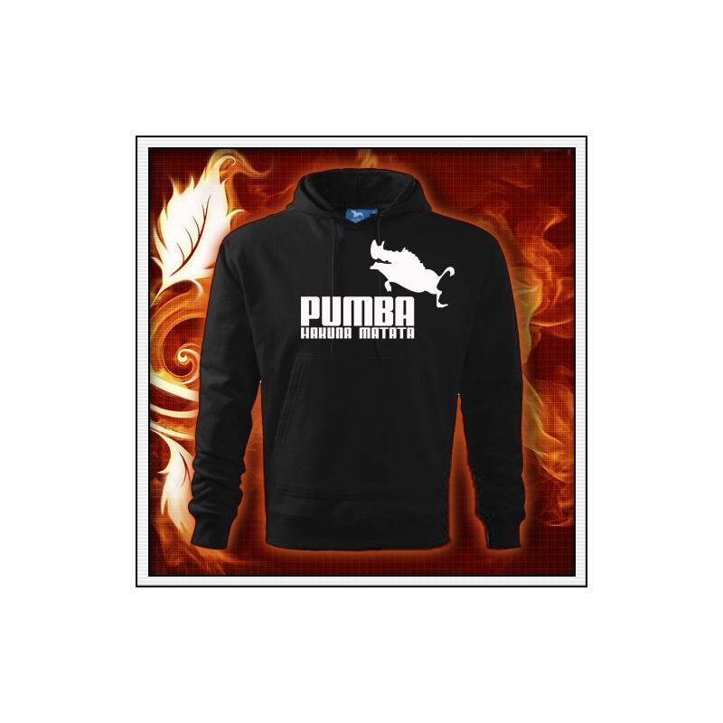 Pumba - čierna mikina
