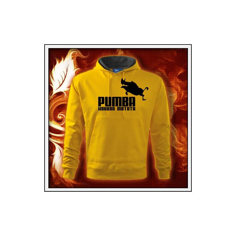 Pumba - žltá mikina