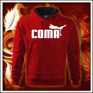 Coma - červená mikina