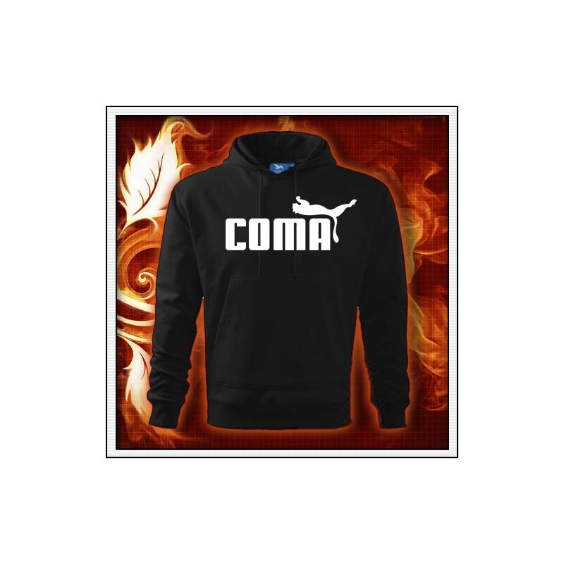 Coma - čierna mikina