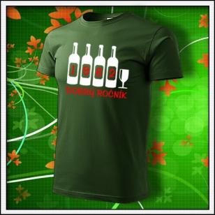 Dobrý ročník - fľaškovozelené