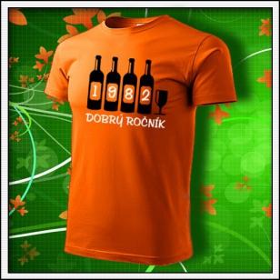 Dobrý ročník - oranžové