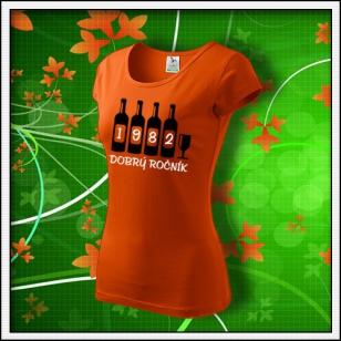 Dobrý ročník - dámske oranžové