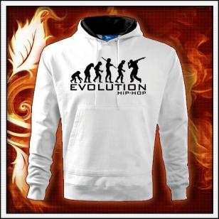Evolution Hip-Hop - biela mikina