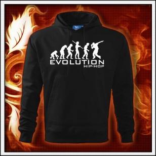 Evolution Hip-Hop - čierna mikina