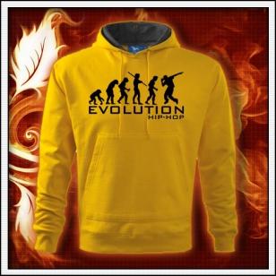 Evolution Hip-Hop - žltá mikina