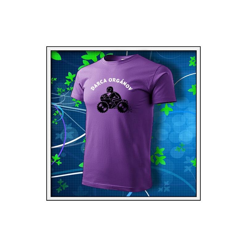 Darca orgánov - fialové