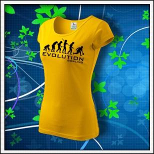 Evolution Bowling - dámske žlté