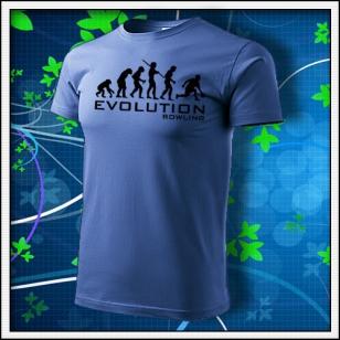 Evolution Bowling - svetlomodré