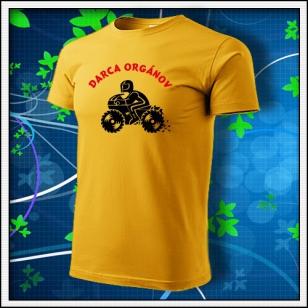 Darca orgánov - žlté