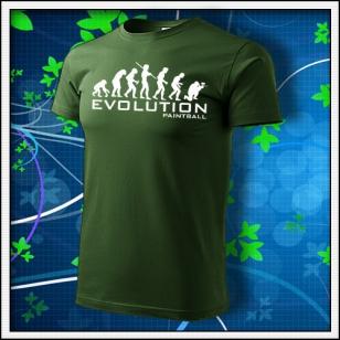 Evolution Paintball - fľaškovozelené