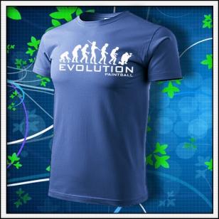 Evolution Paintball - svetlomodré