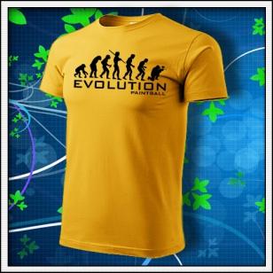 Evolution Paintball - žlté