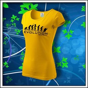 Evolution Paintball - dámske žlté