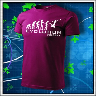 Evolution Frisbee - fuchsia red