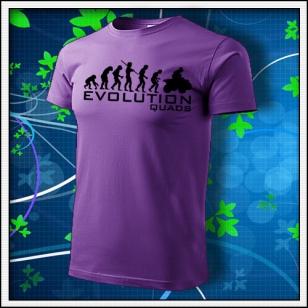 Evolution Quads - Štvorkolky - fialové