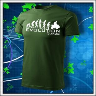 Evolution Quads - Štvorkolky - fľaškovozelené