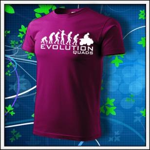Evolution Quads - Štvorkolky - fuchsia red