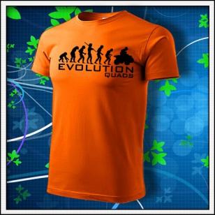 Evolution Quads - Štvorkolky - oranžové