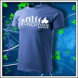 Evolution Quads - Štvorkolky - svetlomodré