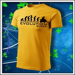 Evolution Quads - Štvorkolky - žlté