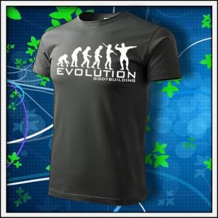 Evolution Bodybuilding - tmavá bridlica