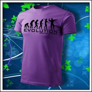 Evolution Bodybuilding - fialové