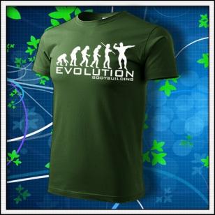 Evolution Bodybuilding - fľaškovozelené