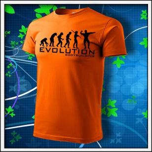 Evolution Bodybuilding - oranžové