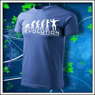 Evolution Bodybuilding - svetlomodré