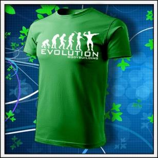 Evolution Bodybuilding - trávovozelené