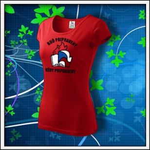 Pionier - dámske červené