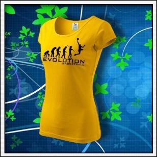Evolution Basketball - dámske žlté