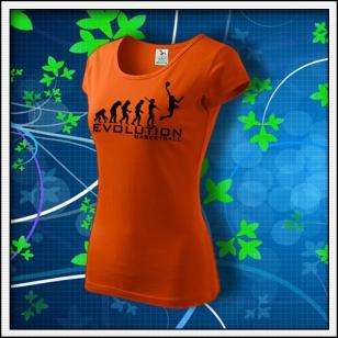 Evolution Basketball - dámske oranžové