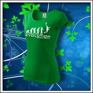 Evolution Basketball - dámske trávovozelené