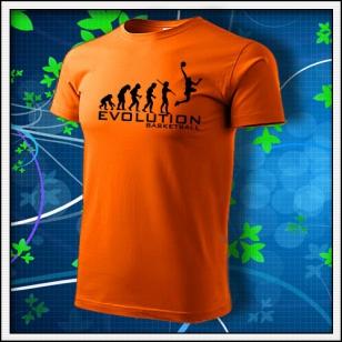 Evolution Basketball - oranžové