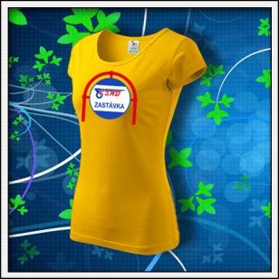 ČSAD Zastávka - dámske žlté