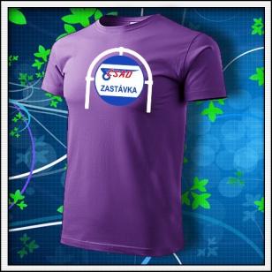 ČSAD Zastávka - fialové