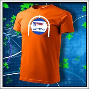 ČSAD Zastávka - oranžové