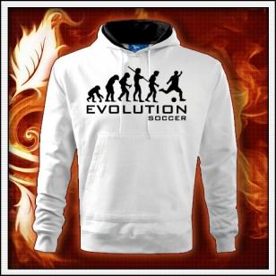 Evolution Soccer - biela mikina